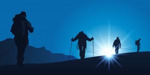 Alpiniste Cordee
